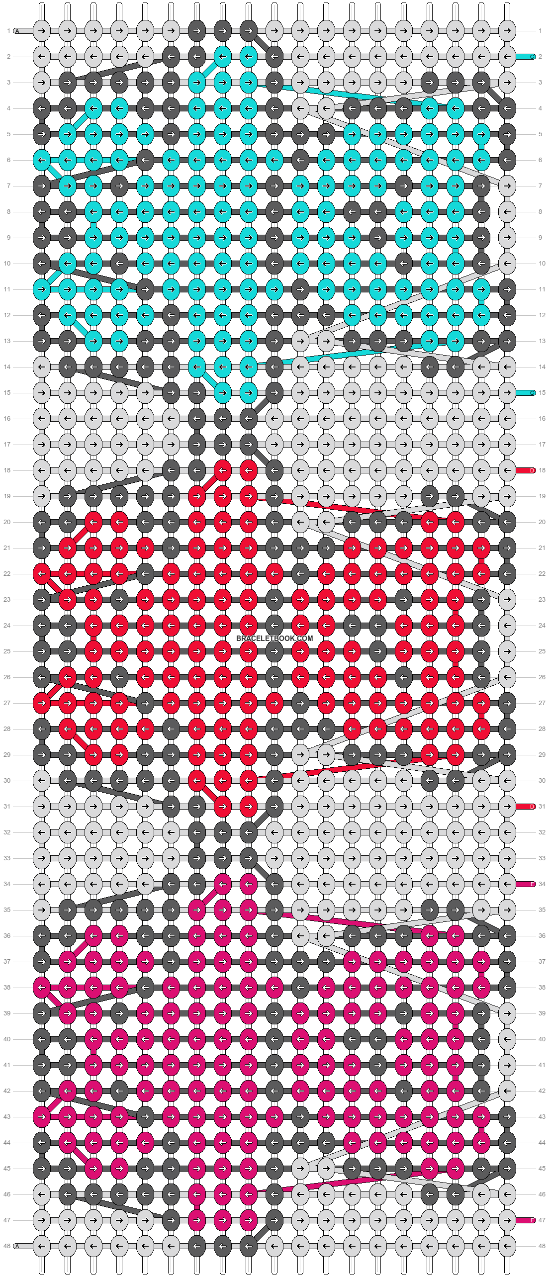 Alpha pattern #20043 pattern