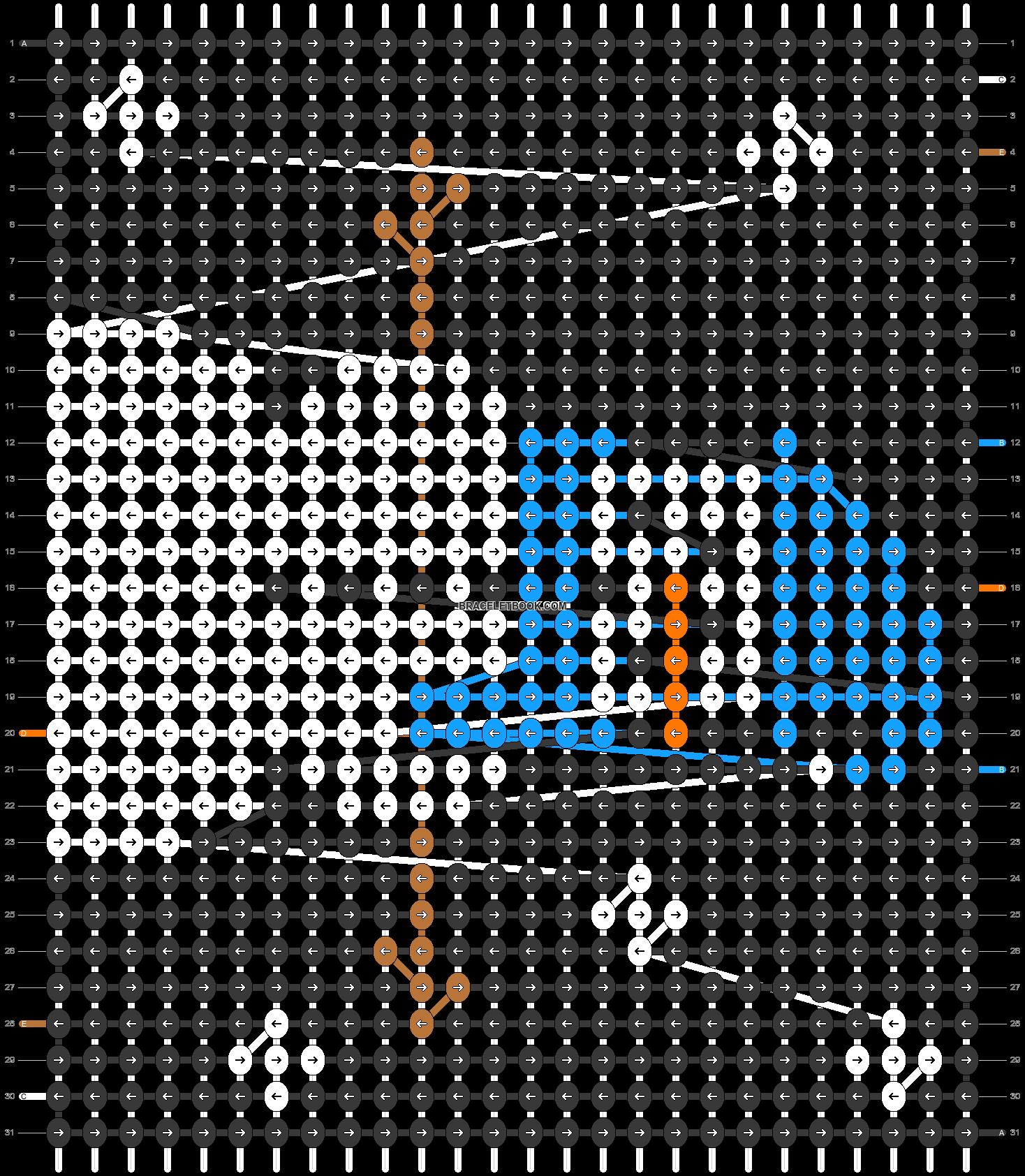Alpha pattern #20049 pattern