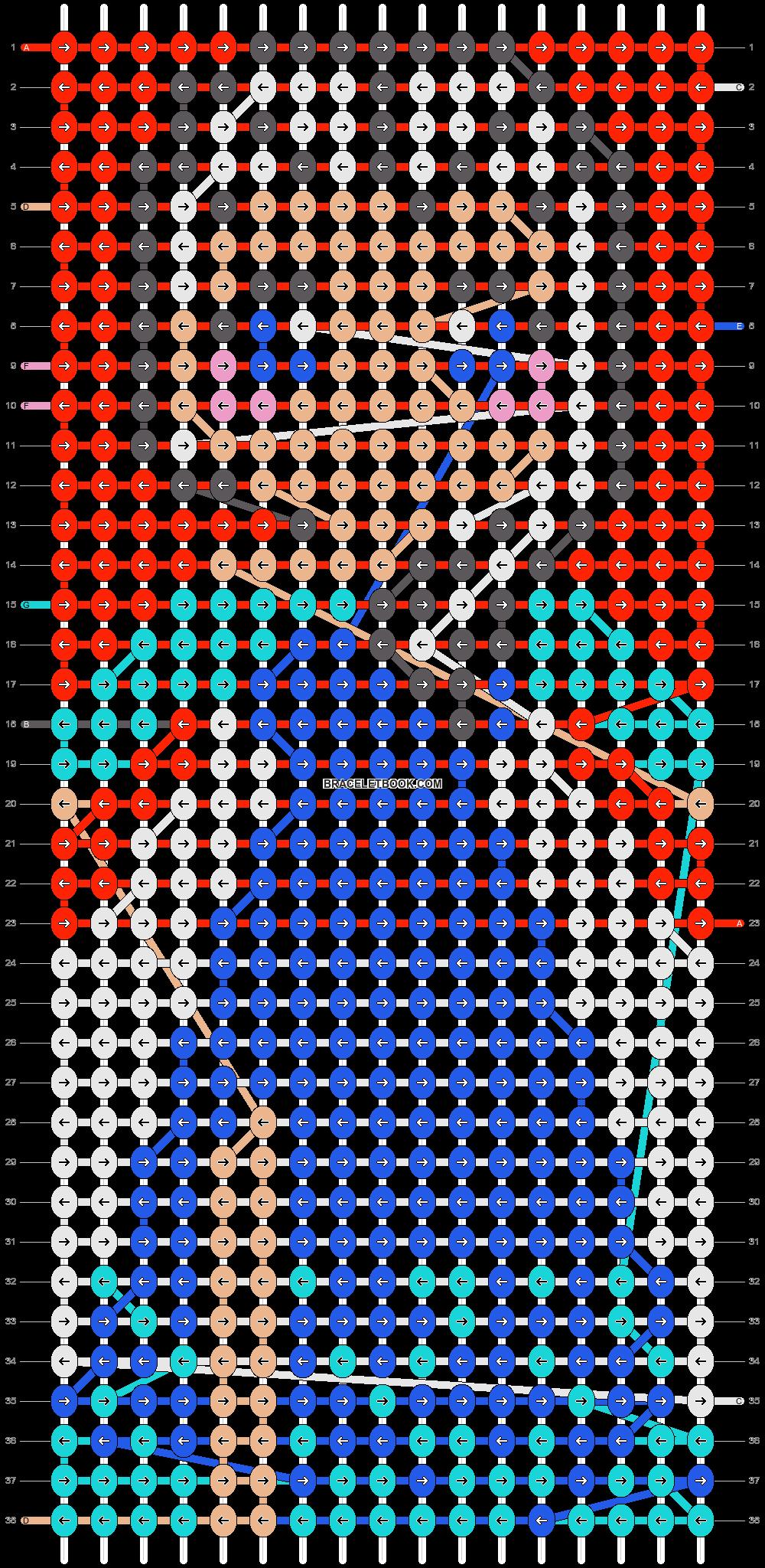 Alpha pattern #20056 pattern