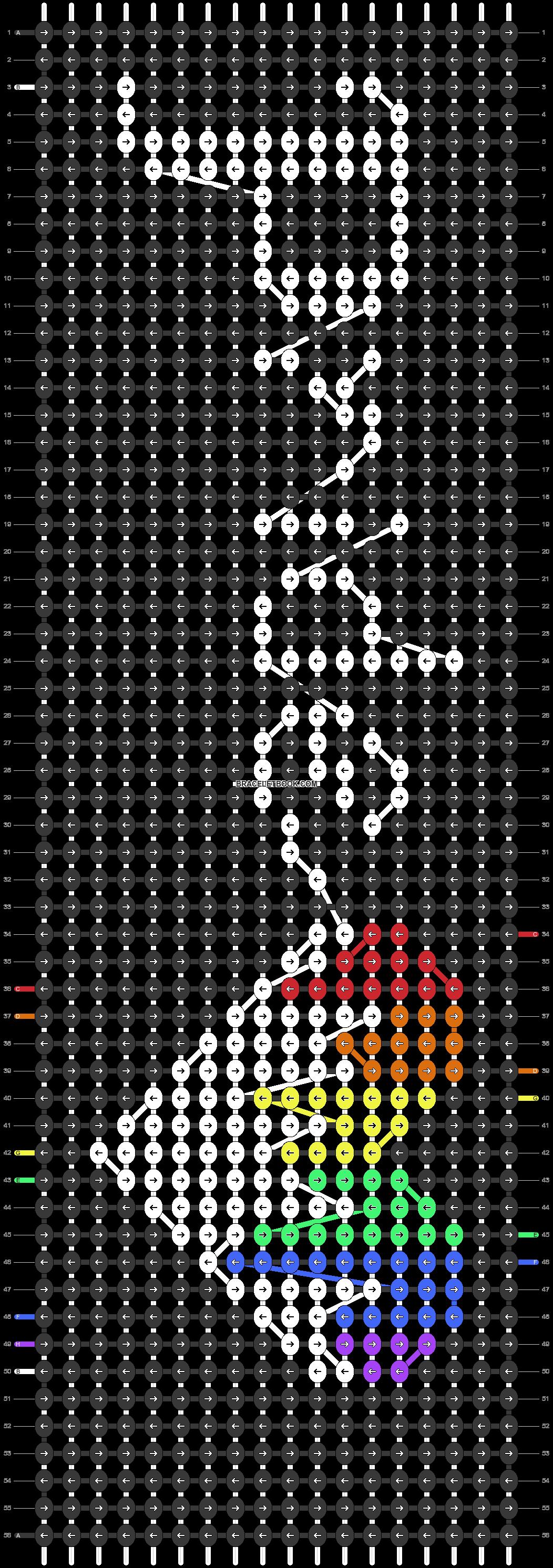 Alpha pattern #20069 pattern