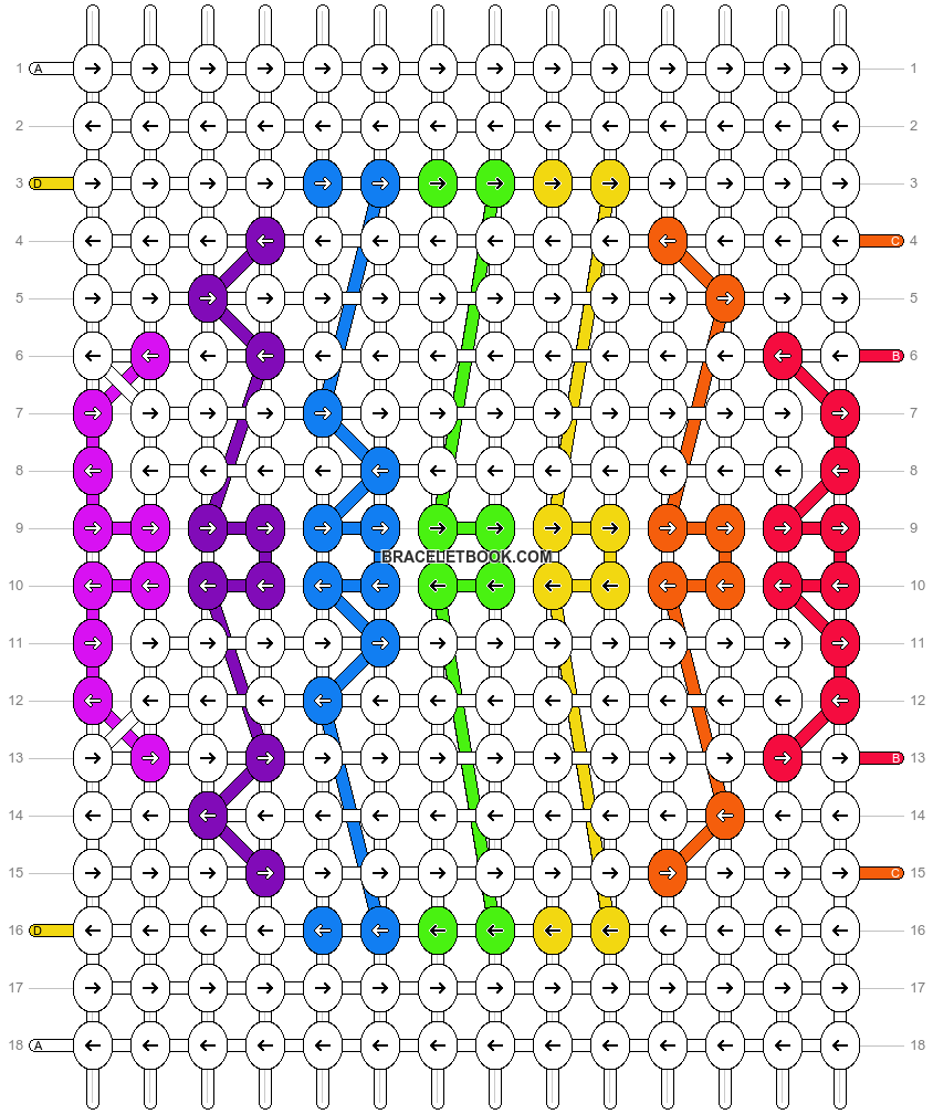 Alpha pattern #20091 pattern