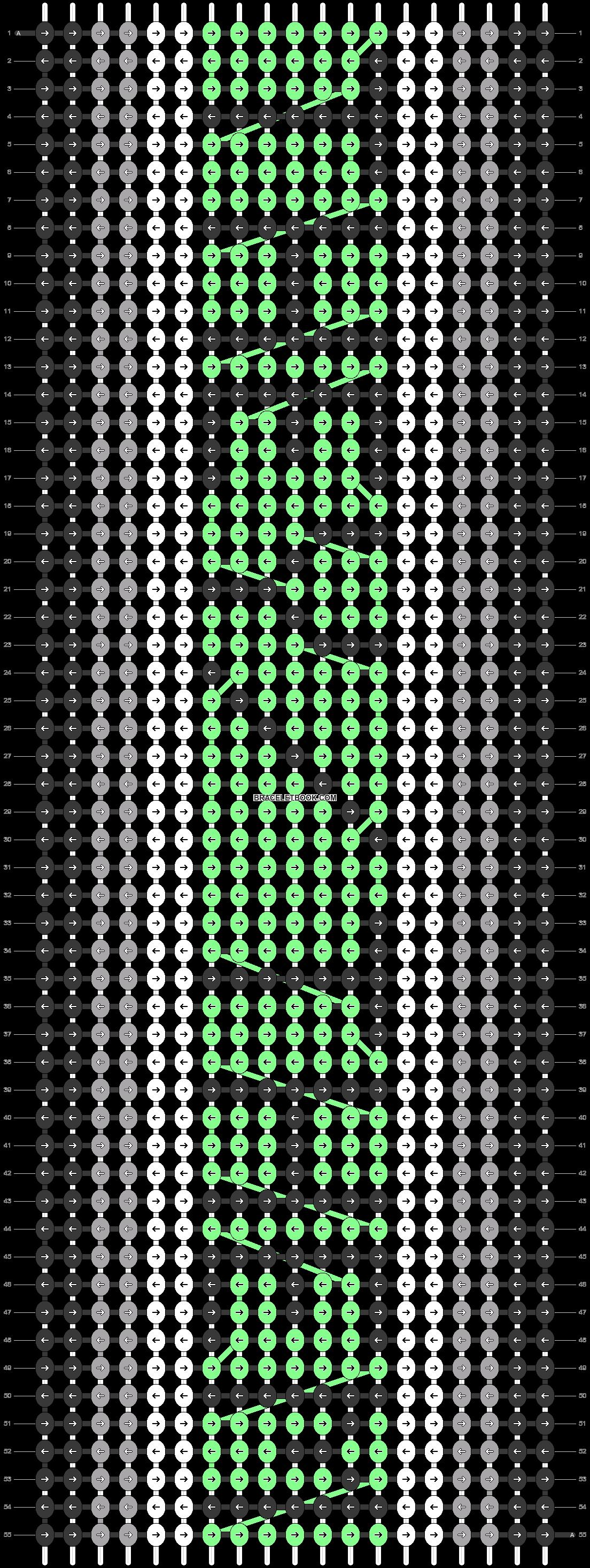 Alpha pattern #20092 pattern