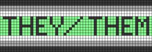Alpha Friendship Bracelet Pattern #20092