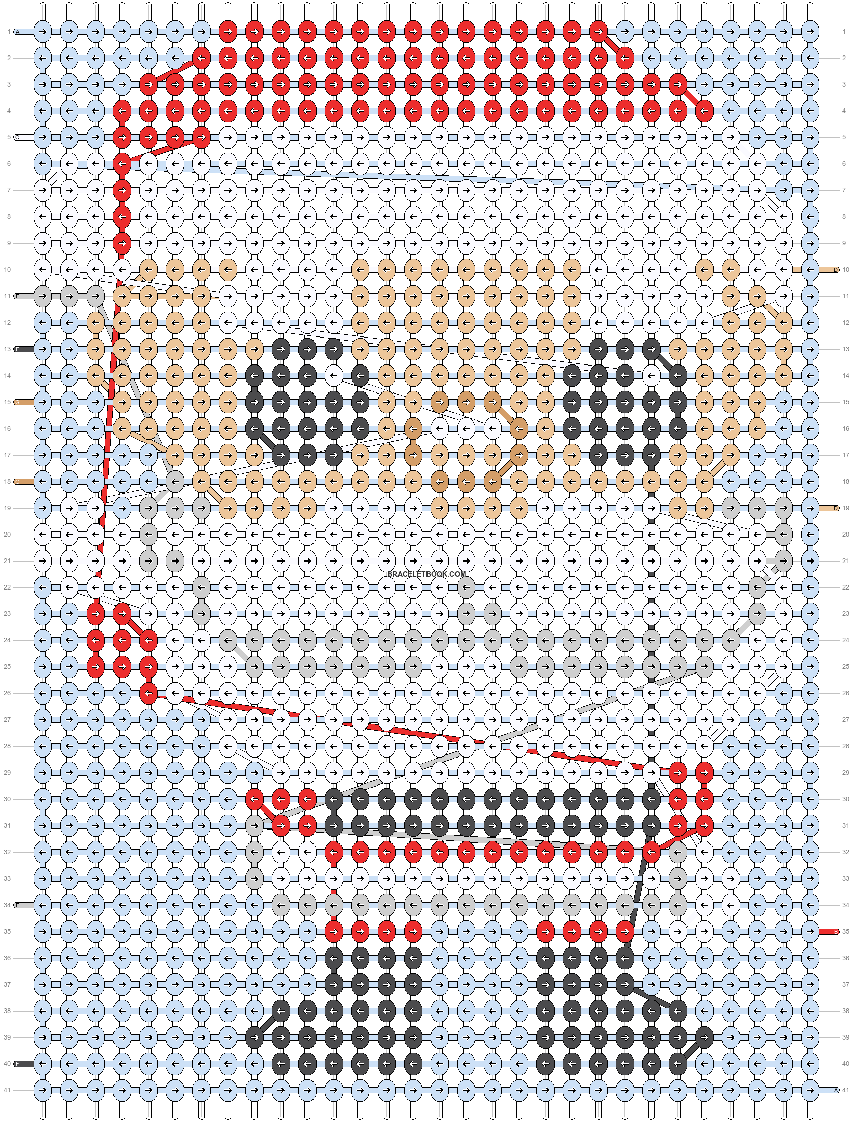 Alpha pattern #20101 pattern