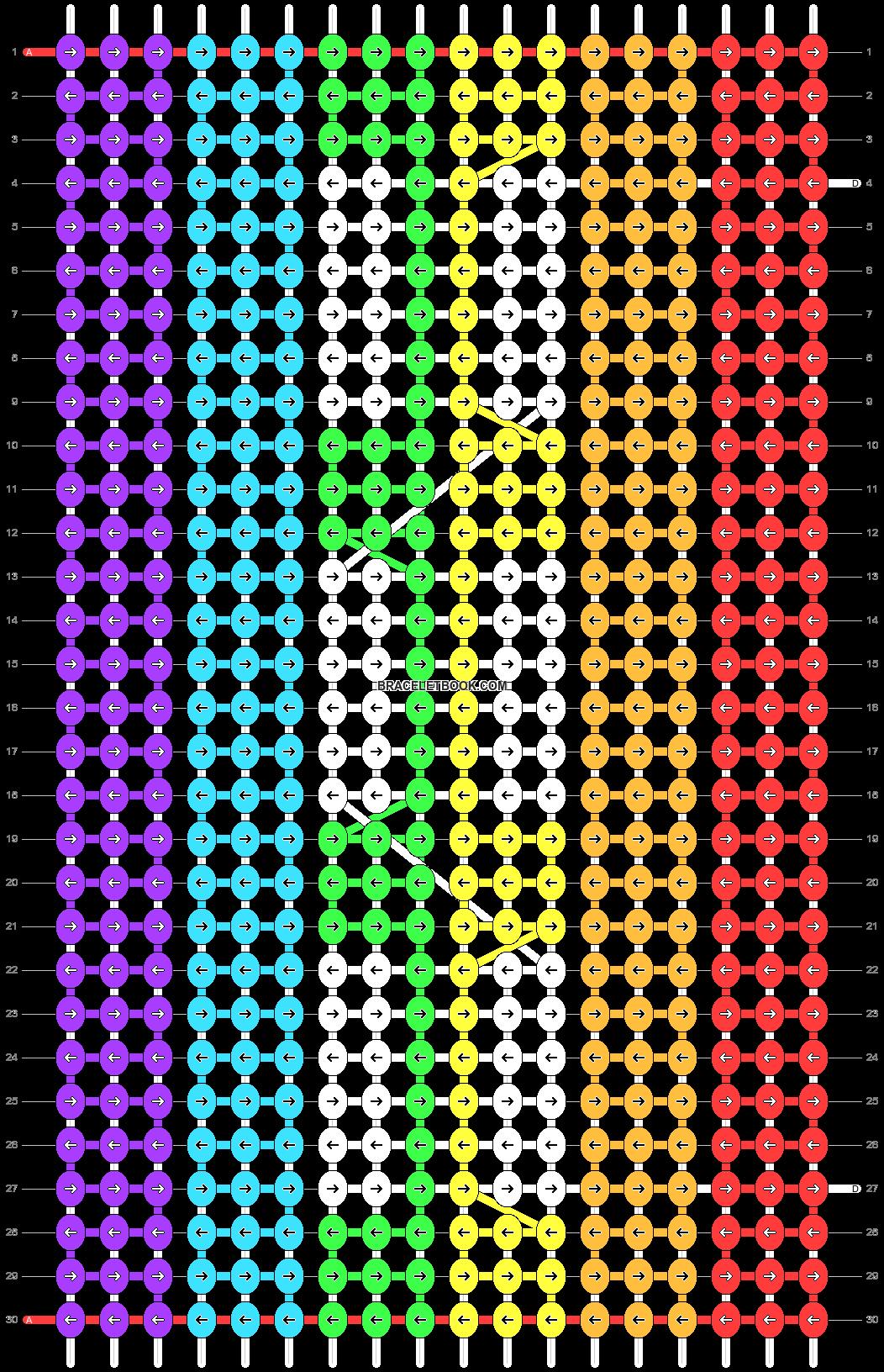 Alpha pattern #20102 pattern