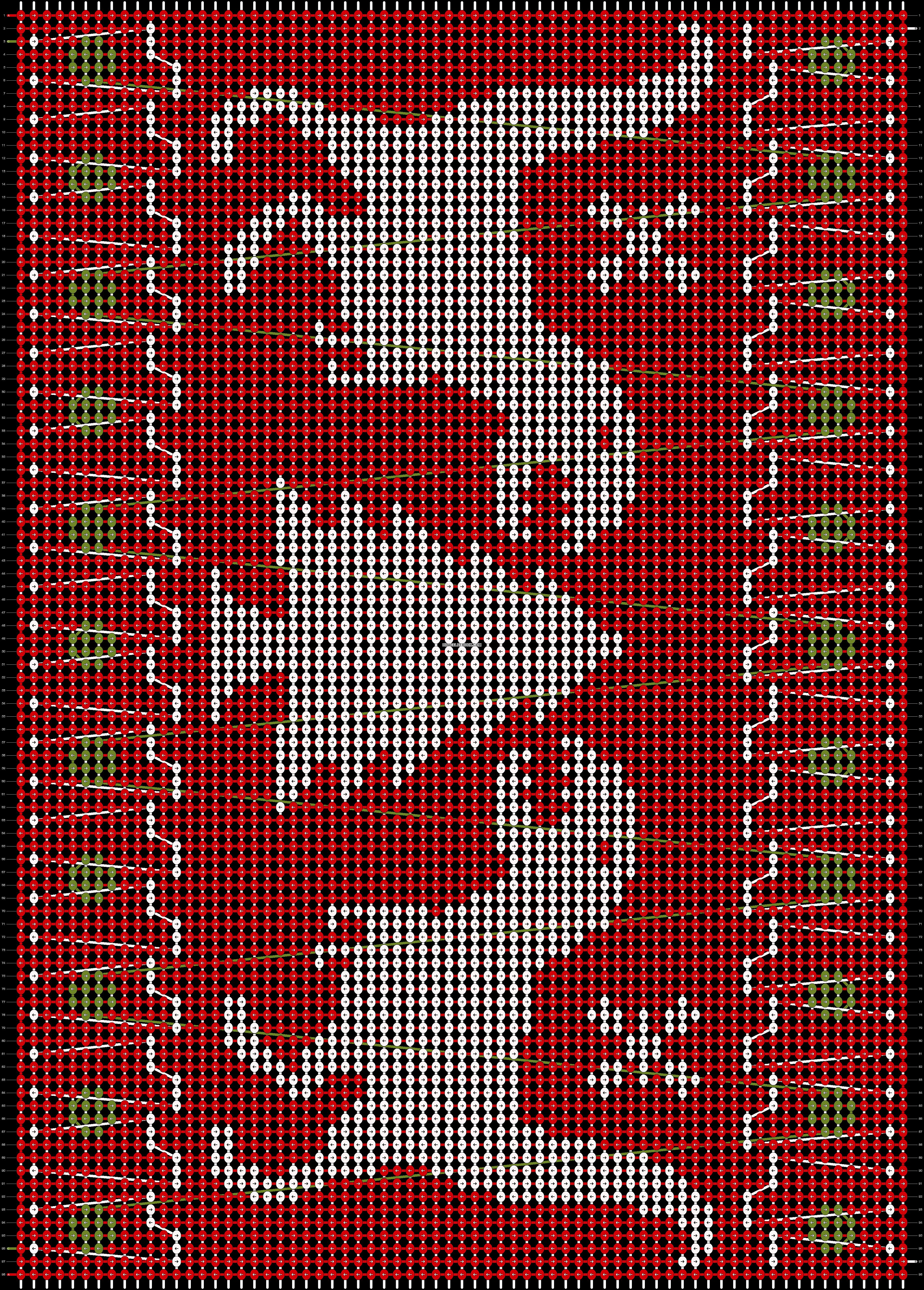 Alpha pattern #20103 pattern