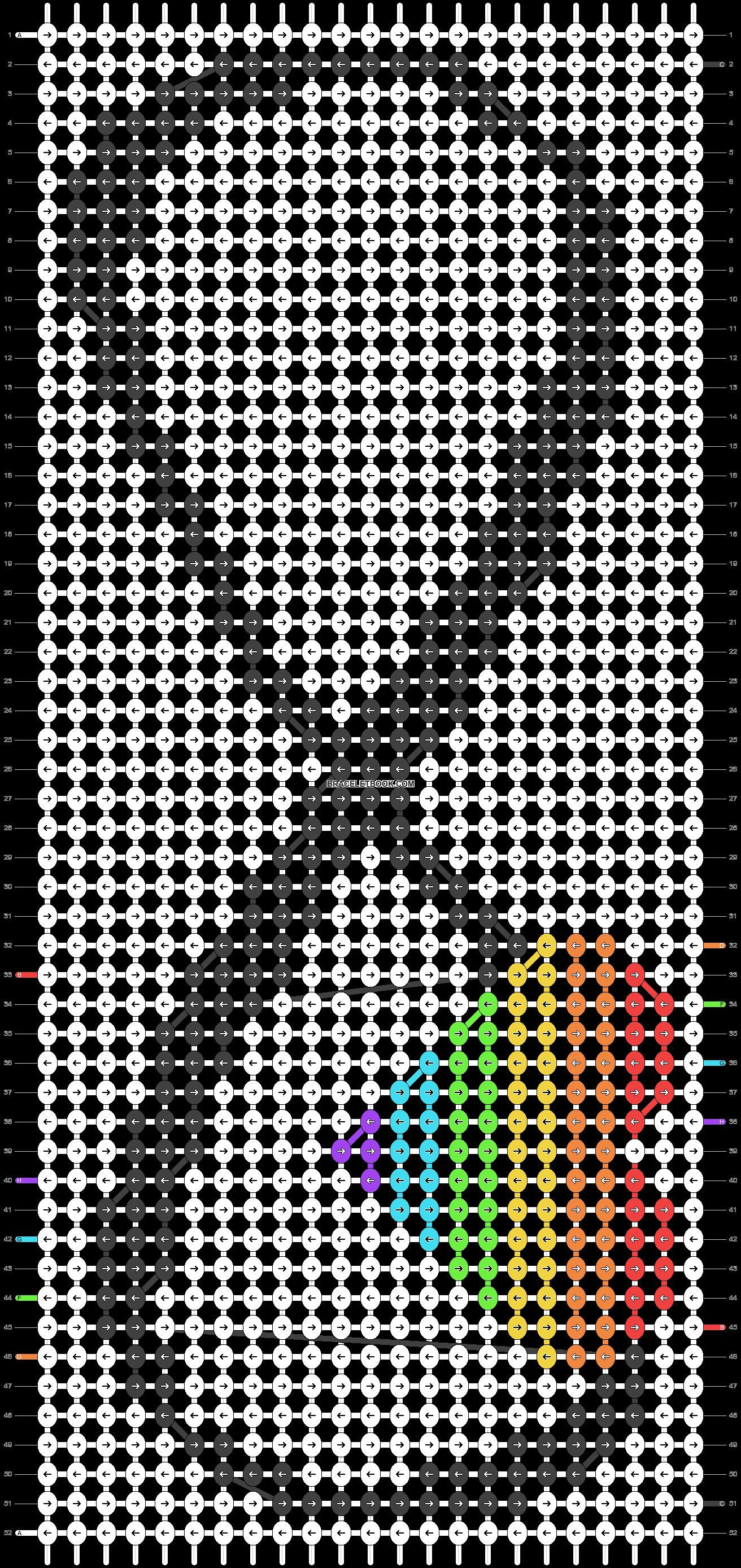 Alpha pattern #20104 pattern