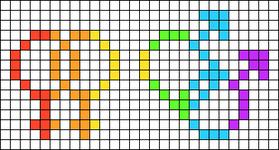 Alpha pattern #20107