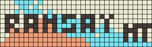 Alpha Friendship Bracelet Pattern #20112