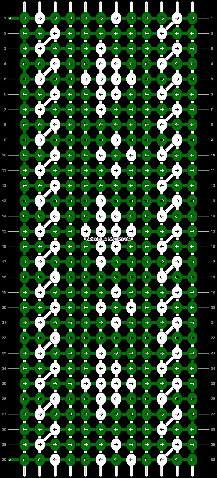 Alpha pattern #20123 pattern