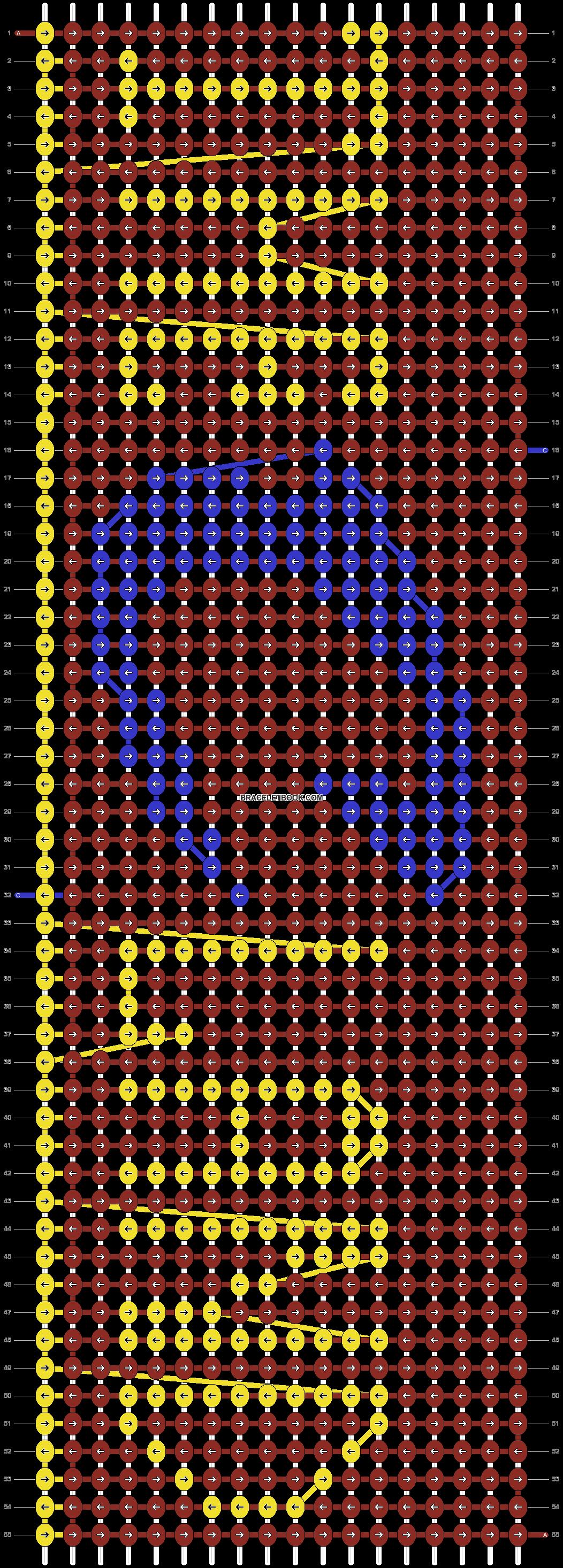 Alpha pattern #20125 pattern