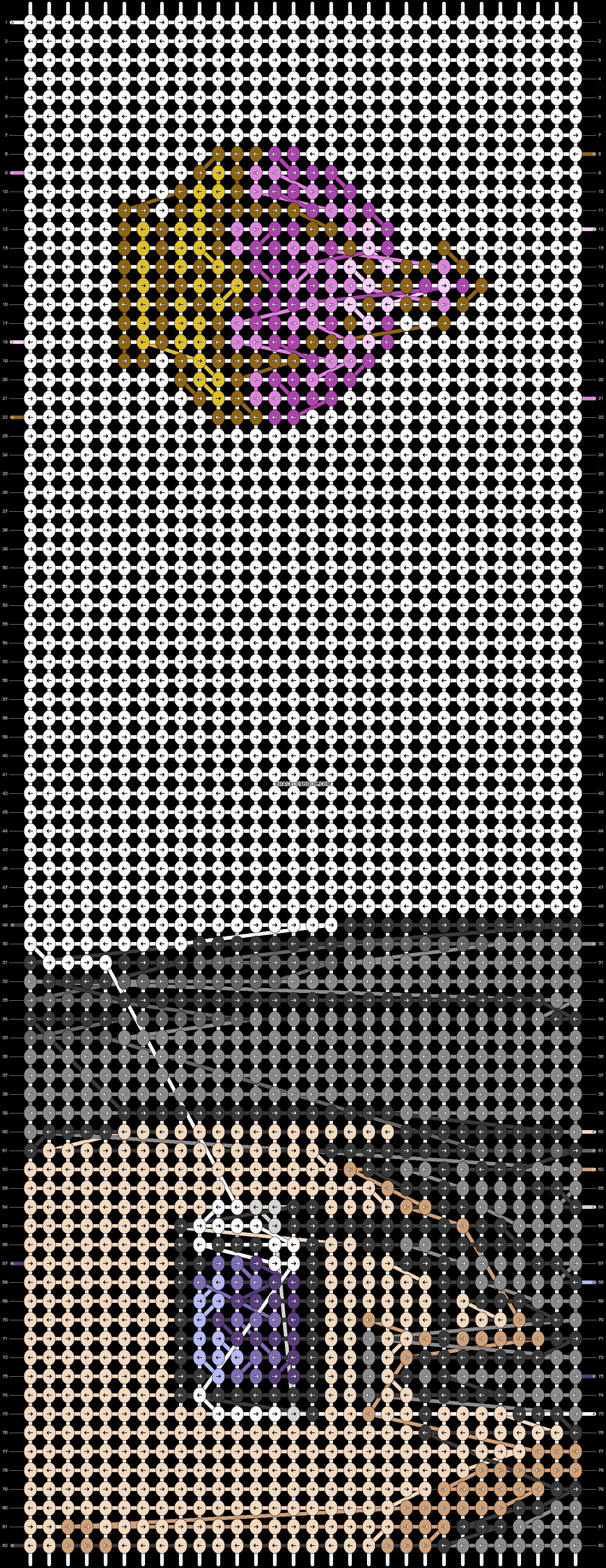 Alpha pattern #20135 pattern