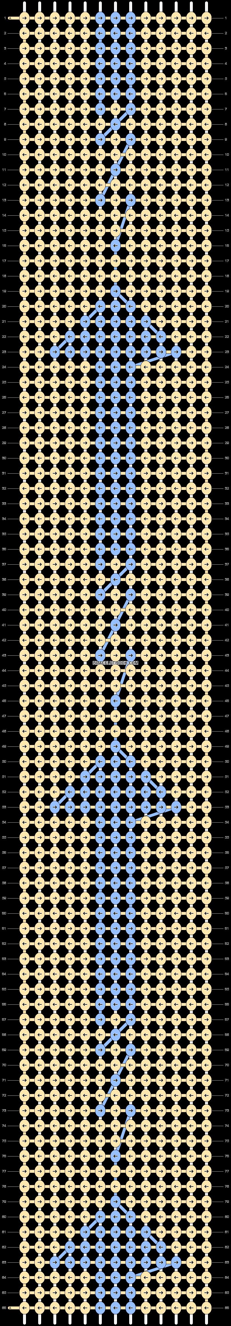 Alpha pattern #20136 pattern