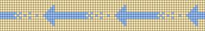 Alpha Friendship Bracelet Pattern #20136