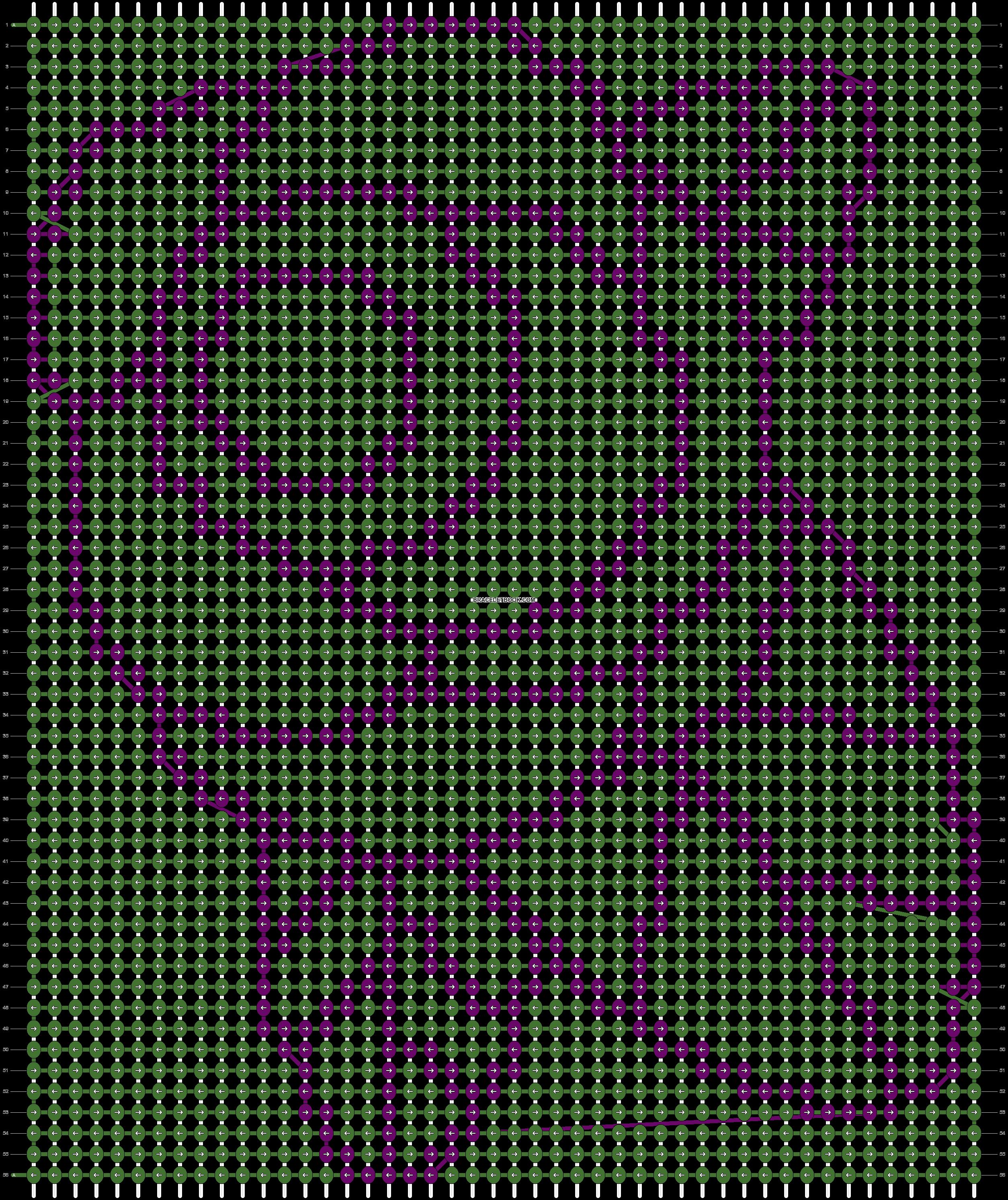 Alpha pattern #20142 pattern