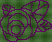 Alpha Friendship Bracelet Pattern #20142