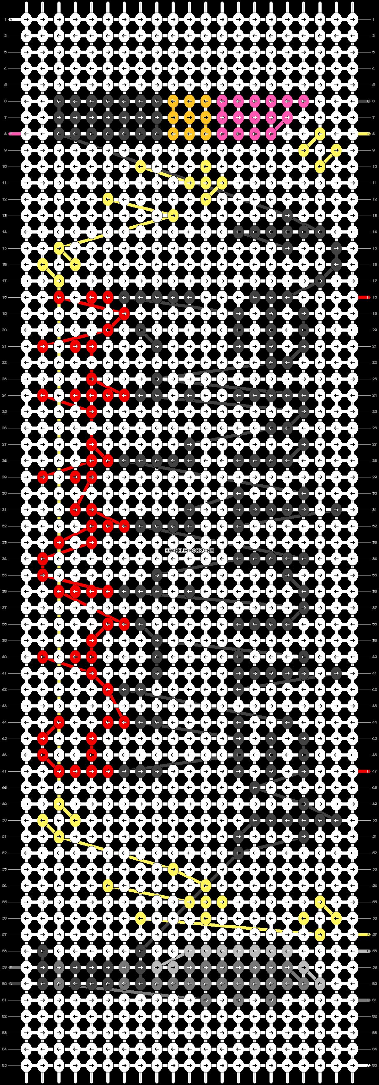Alpha pattern #20151 pattern