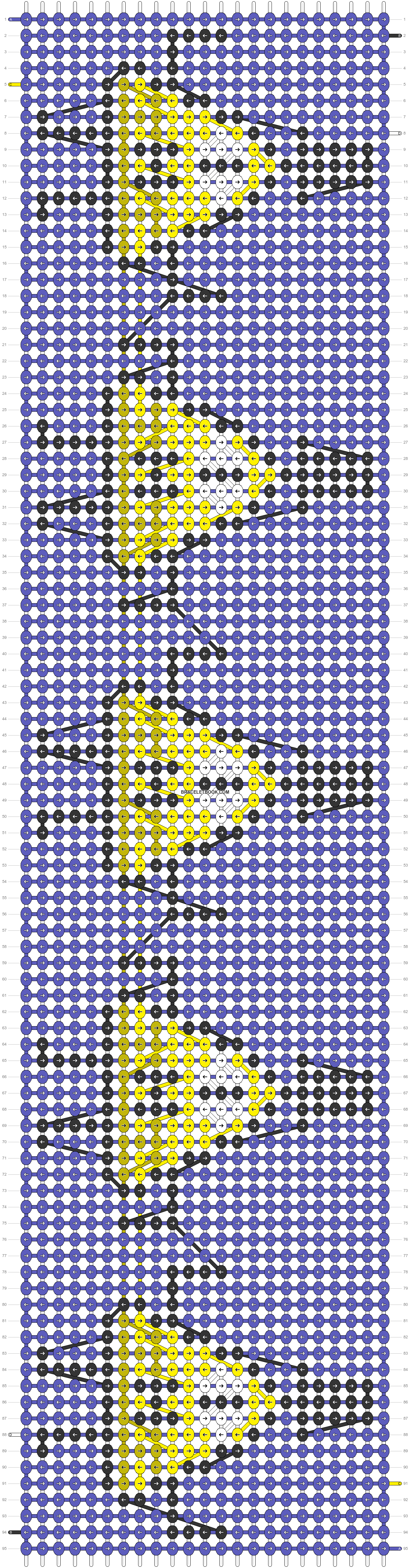 Alpha pattern #20152 pattern