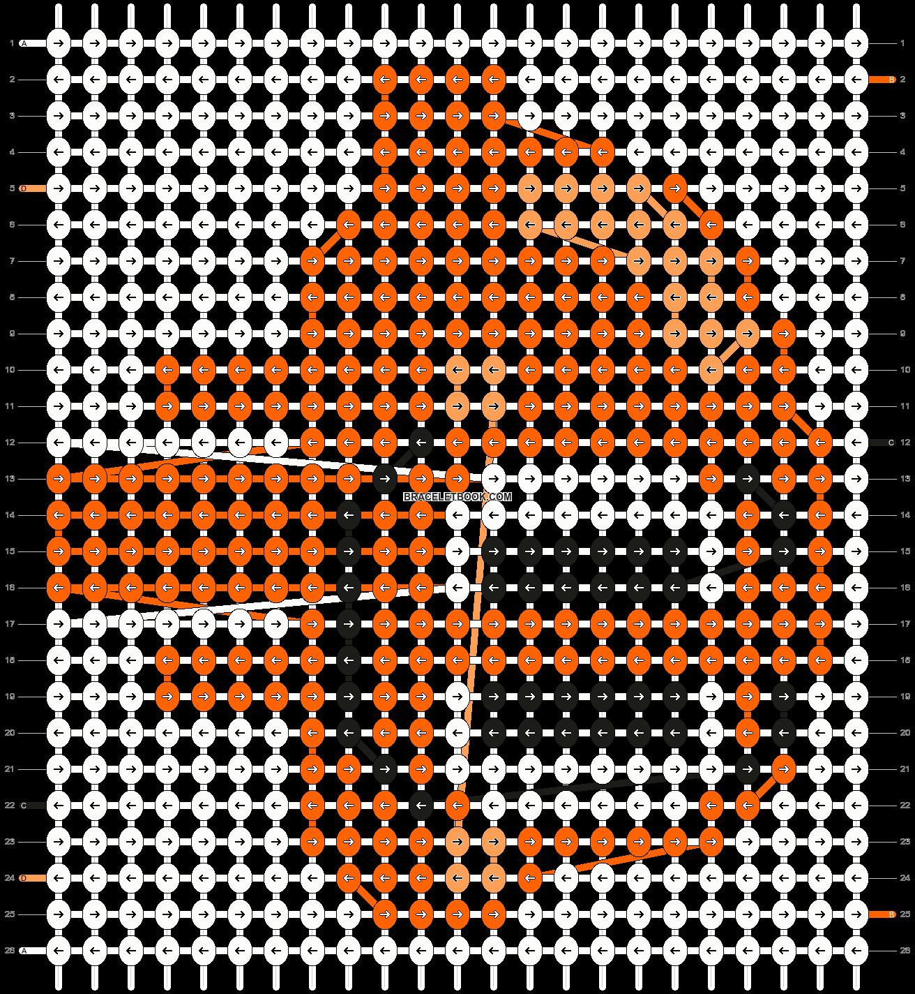 Alpha pattern #20154 pattern