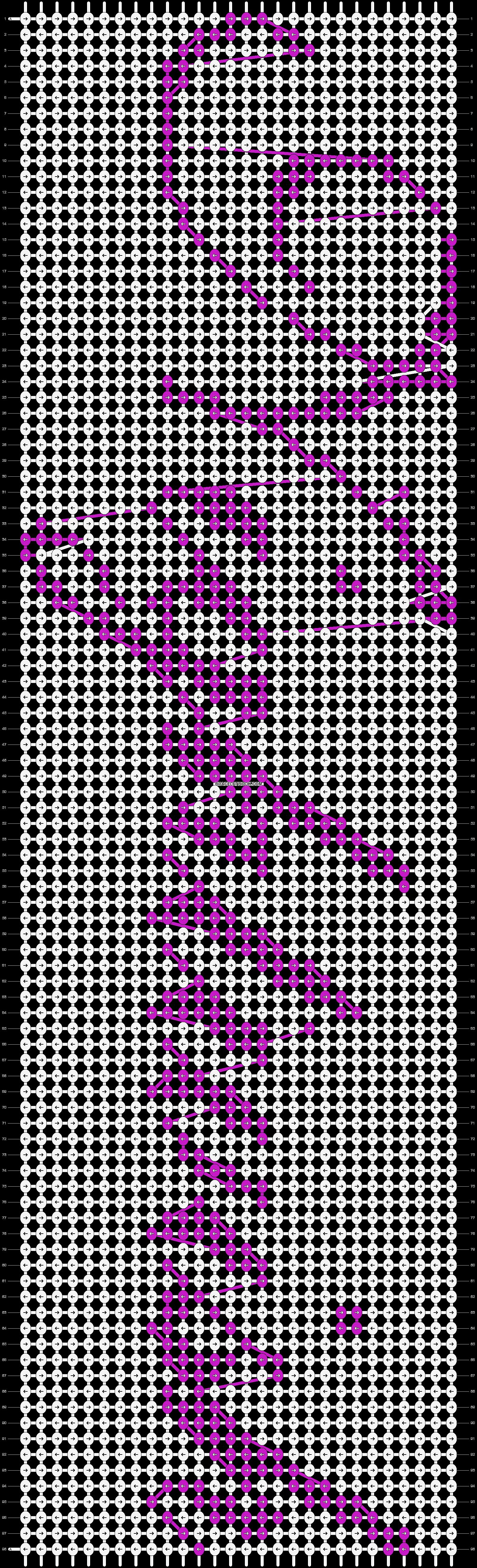 Alpha pattern #20157 pattern