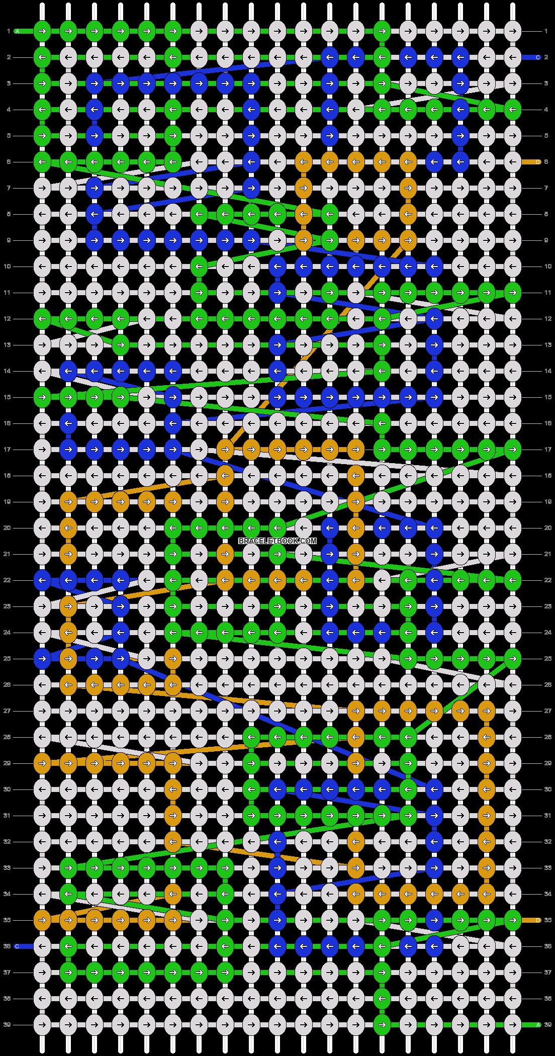 Alpha pattern #20159 pattern