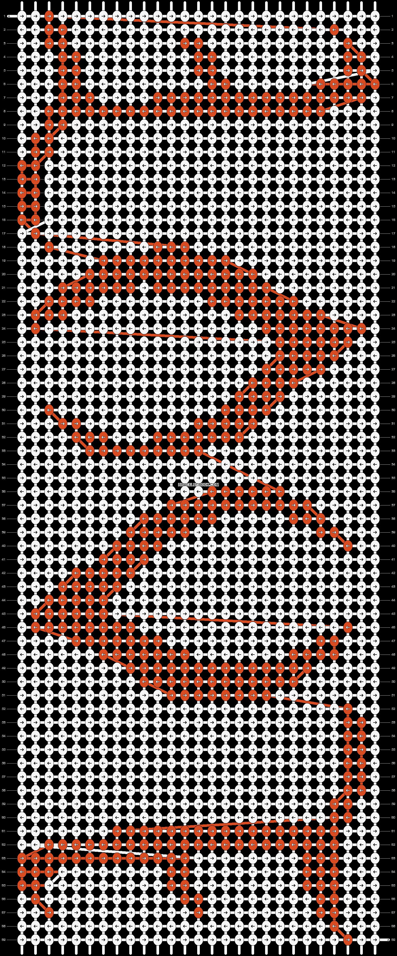 Alpha pattern #20171 pattern