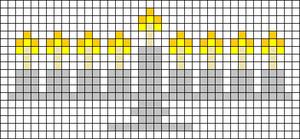 Alpha Friendship Bracelet Pattern #20173