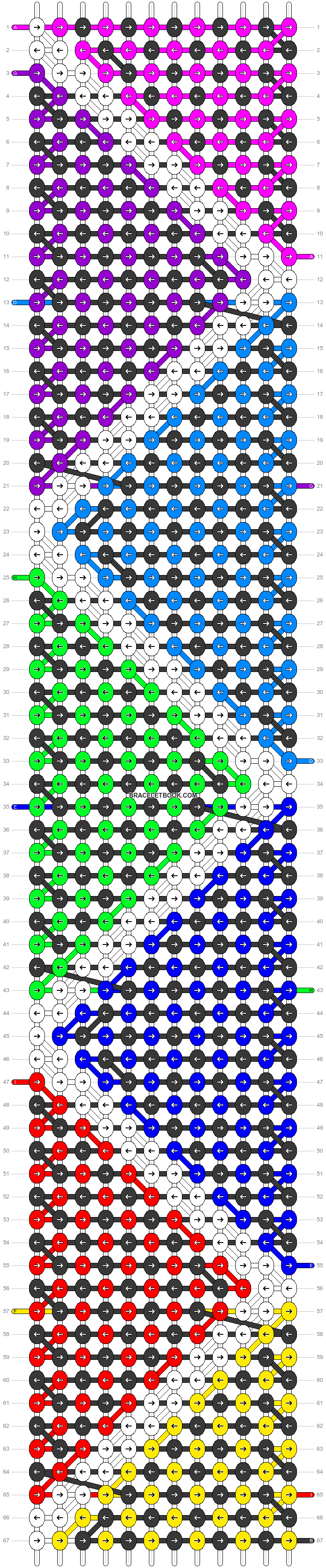 Alpha pattern #20180 pattern