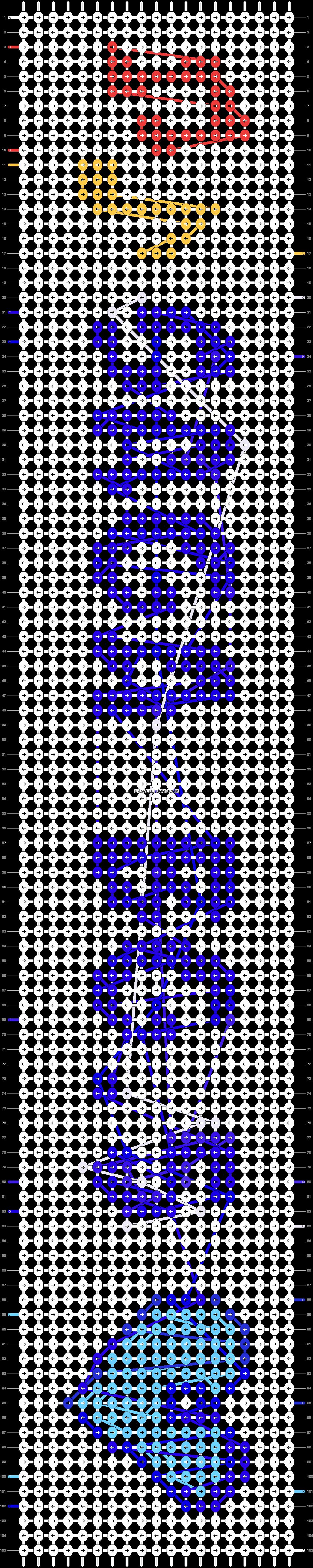 Alpha pattern #20190 pattern