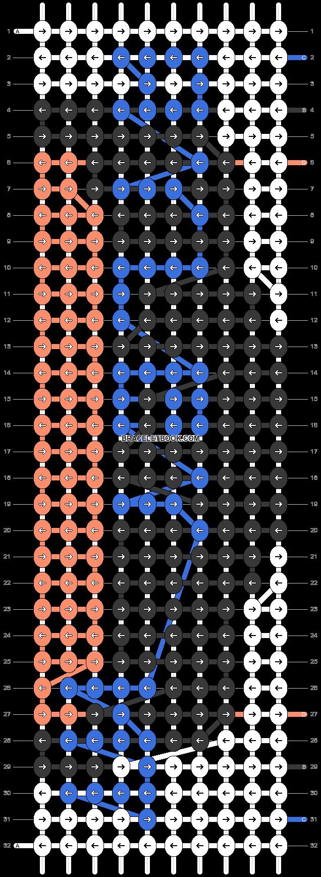 Alpha pattern #20192 pattern
