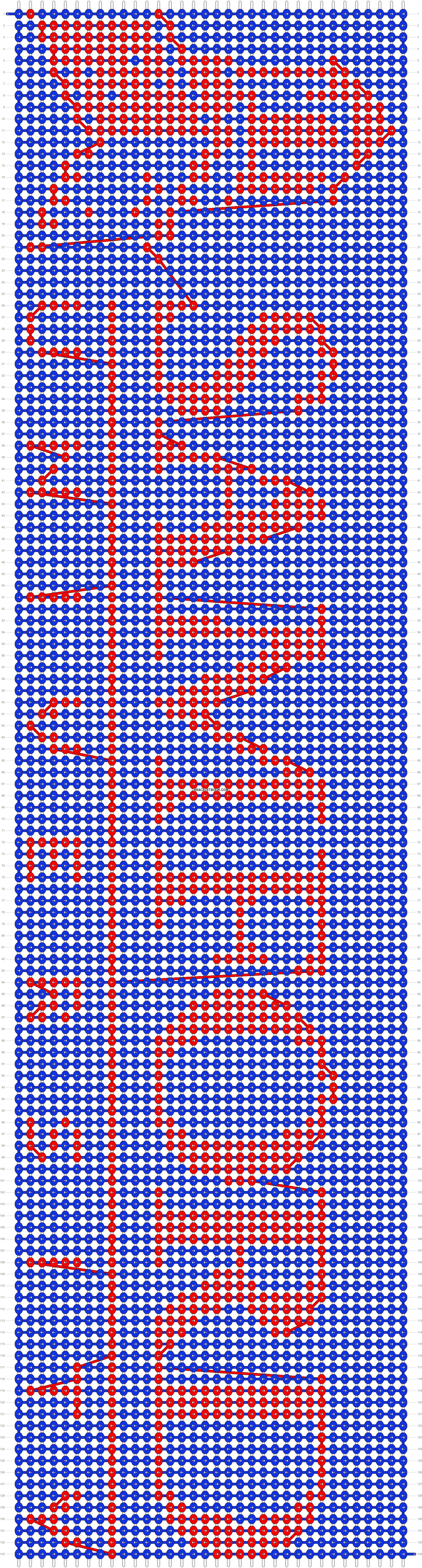 Alpha pattern #20198 pattern