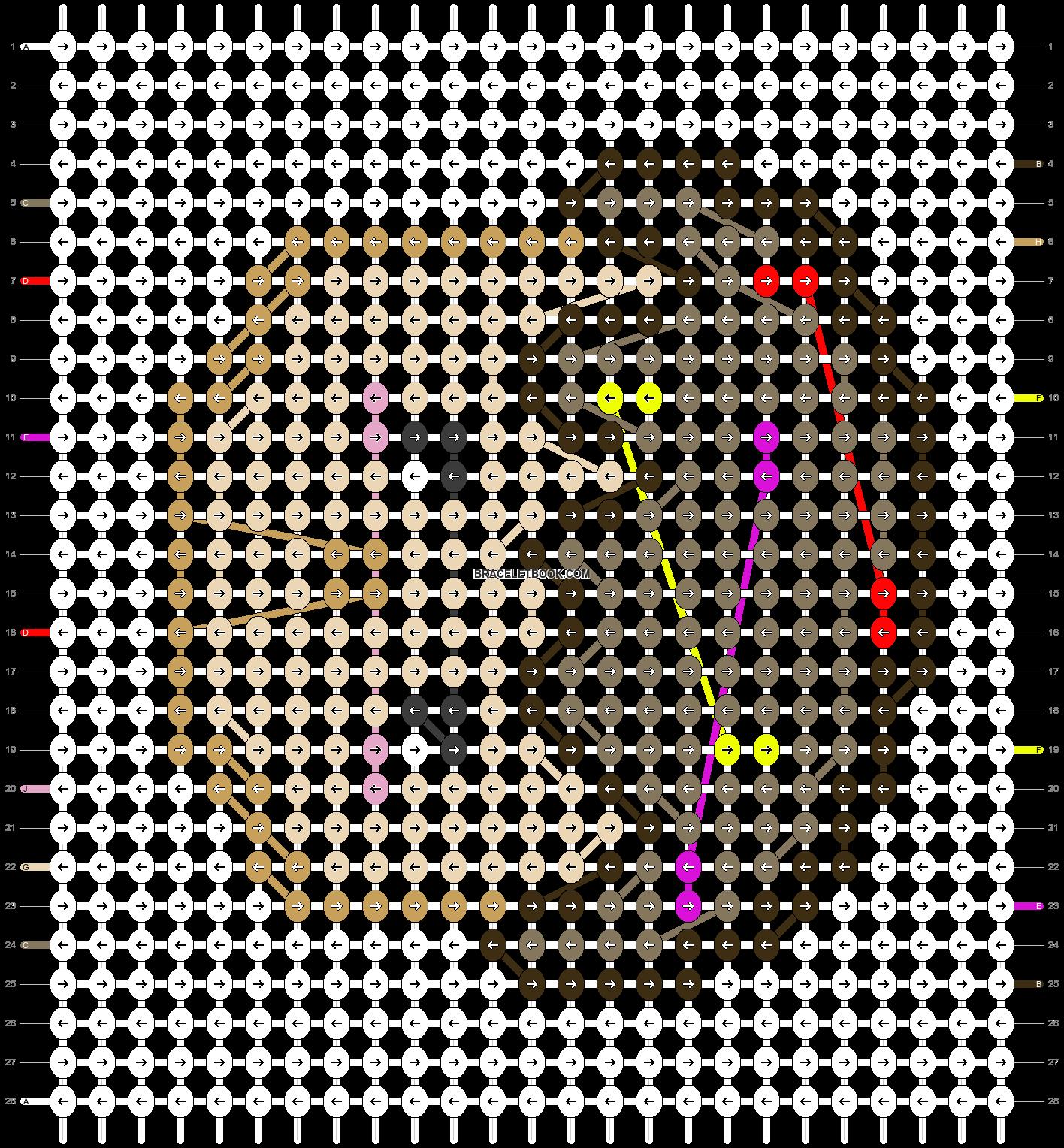 Alpha pattern #20221 pattern