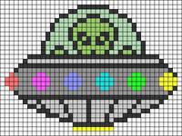 Alpha Friendship Bracelet Pattern #20223