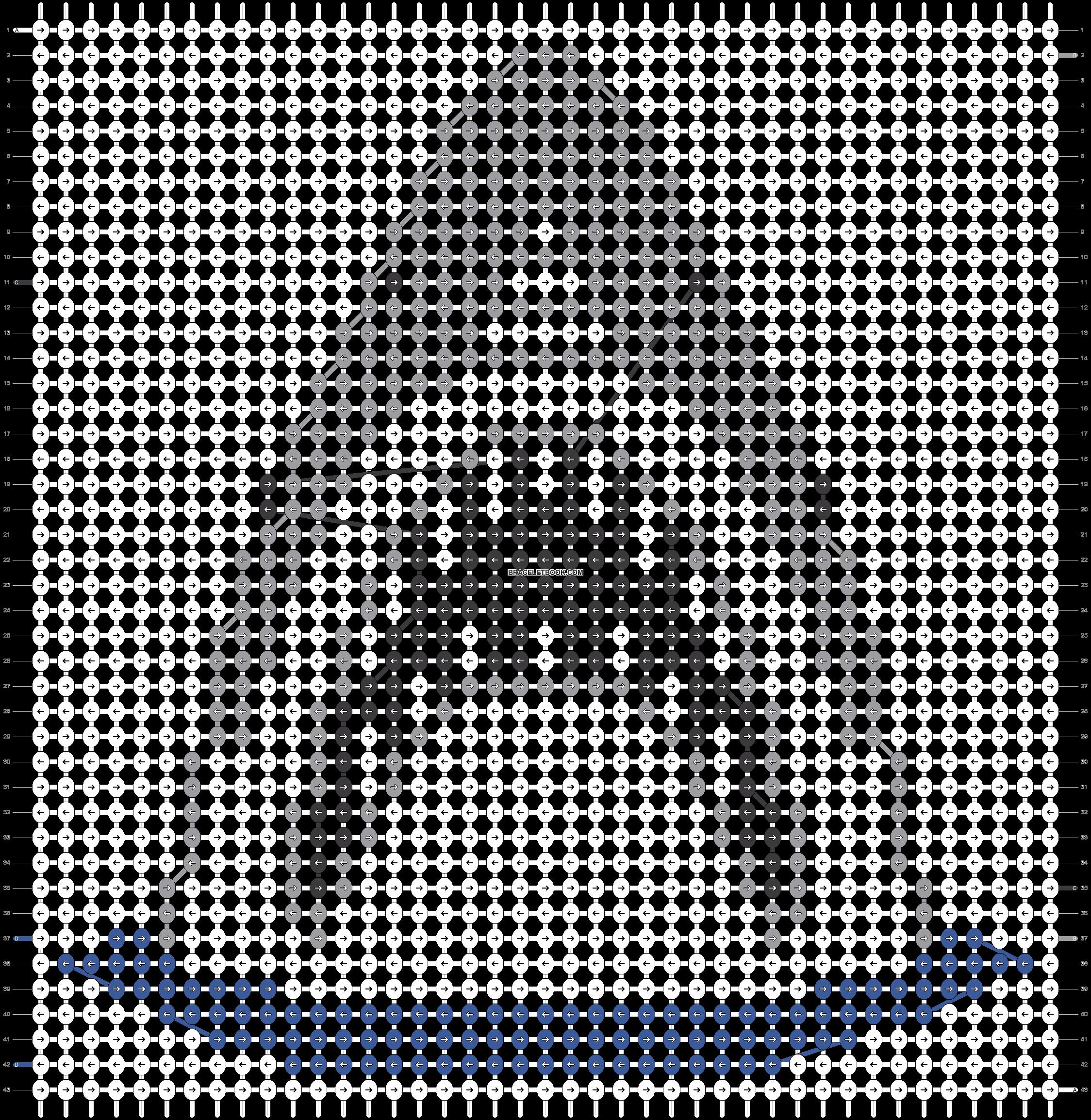 Alpha pattern #20231 pattern