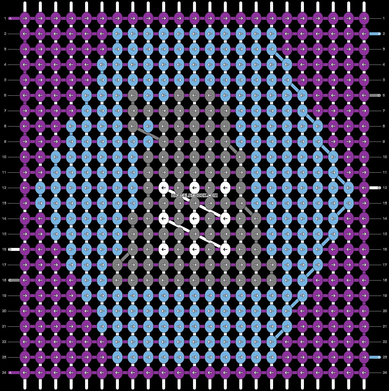Alpha pattern #20233 pattern