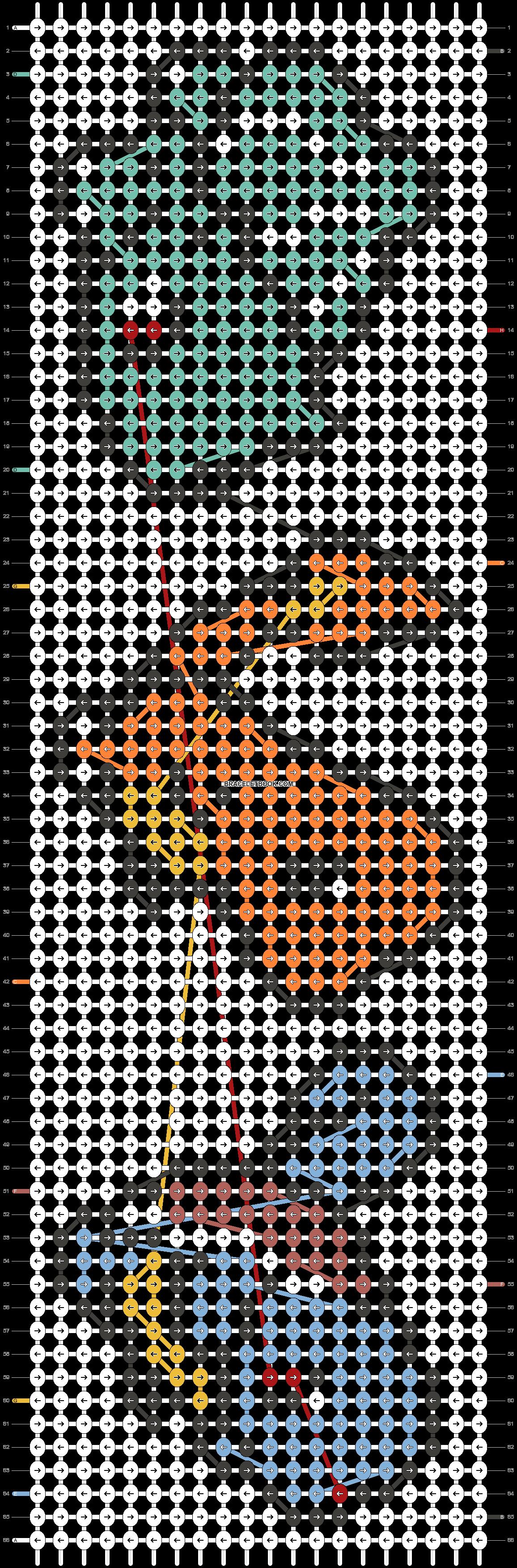 Alpha pattern #20234 pattern