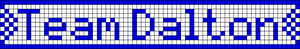 Alpha Friendship Bracelet Pattern #20236