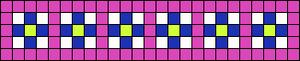 Alpha Friendship Bracelet Pattern #20244