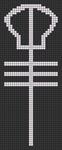 Alpha Friendship Bracelet Pattern #20249