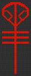 Alpha Friendship Bracelet Pattern #20250