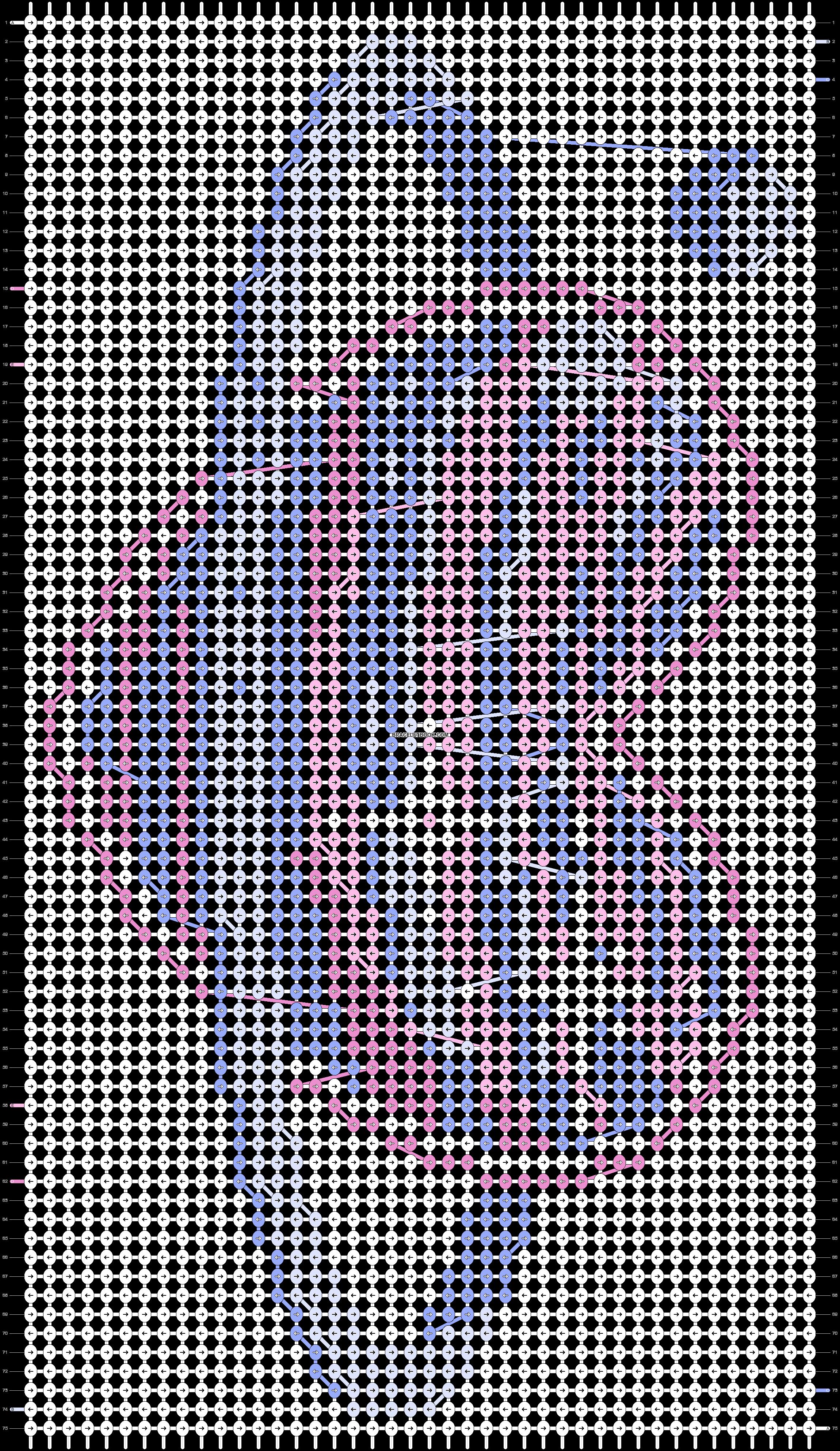 Alpha pattern #20253 pattern