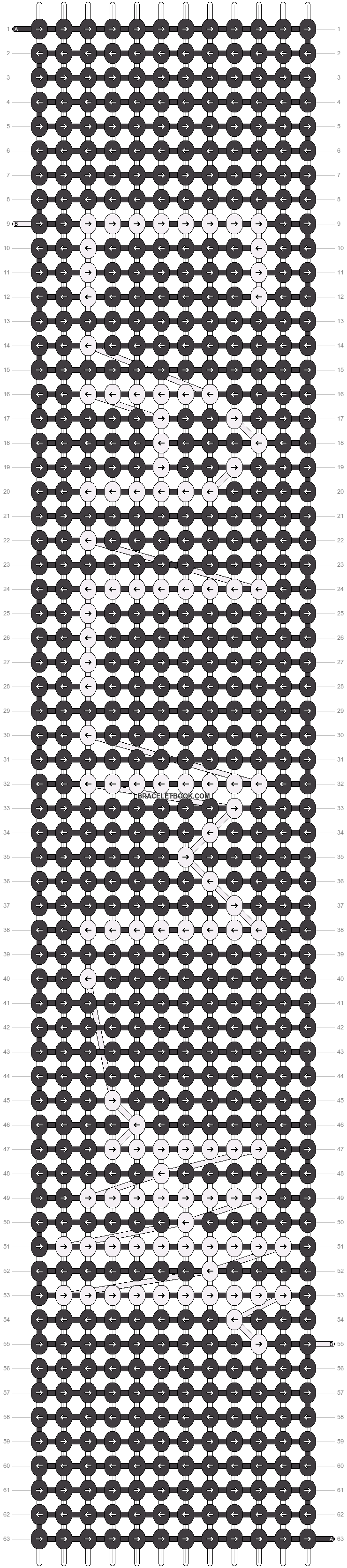 Alpha pattern #20257 pattern