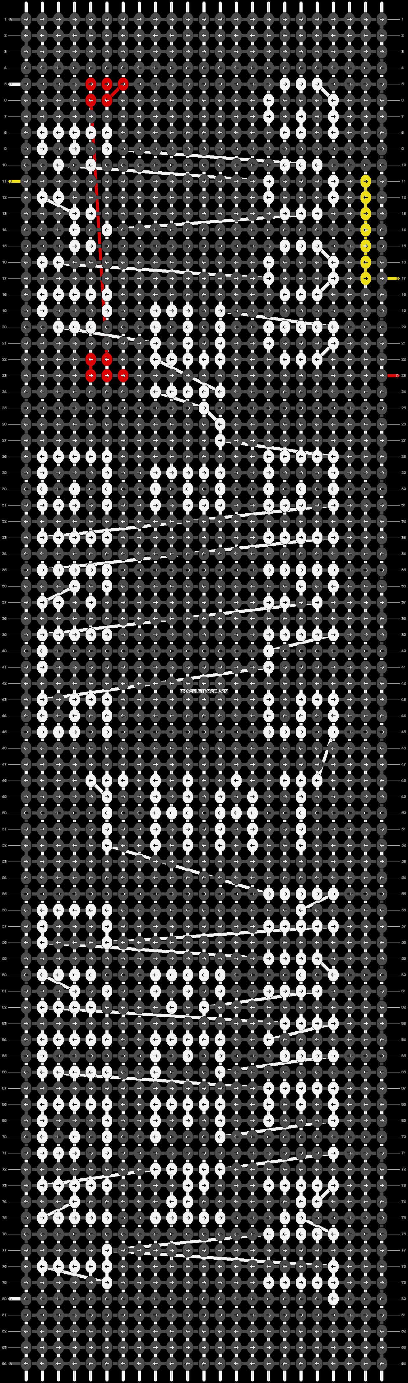 Alpha pattern #20258 pattern