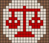 Alpha Friendship Bracelet Pattern #20267