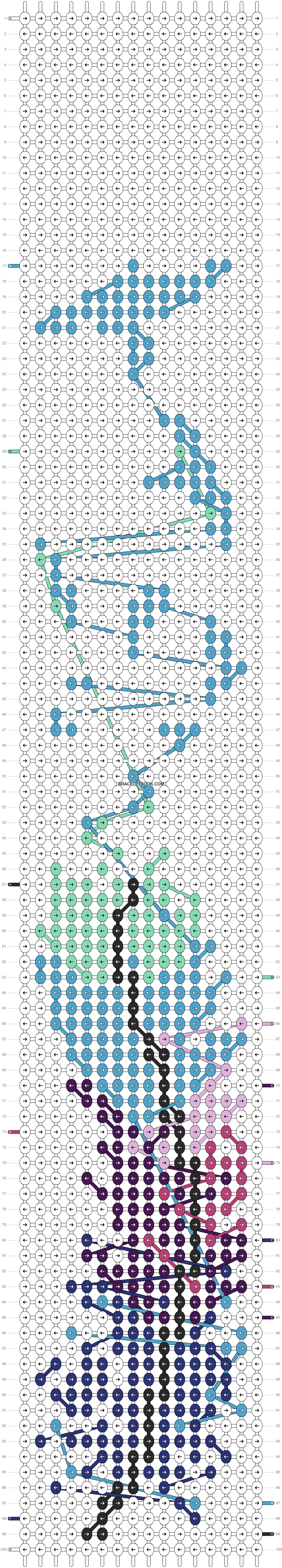Alpha pattern #20268 pattern
