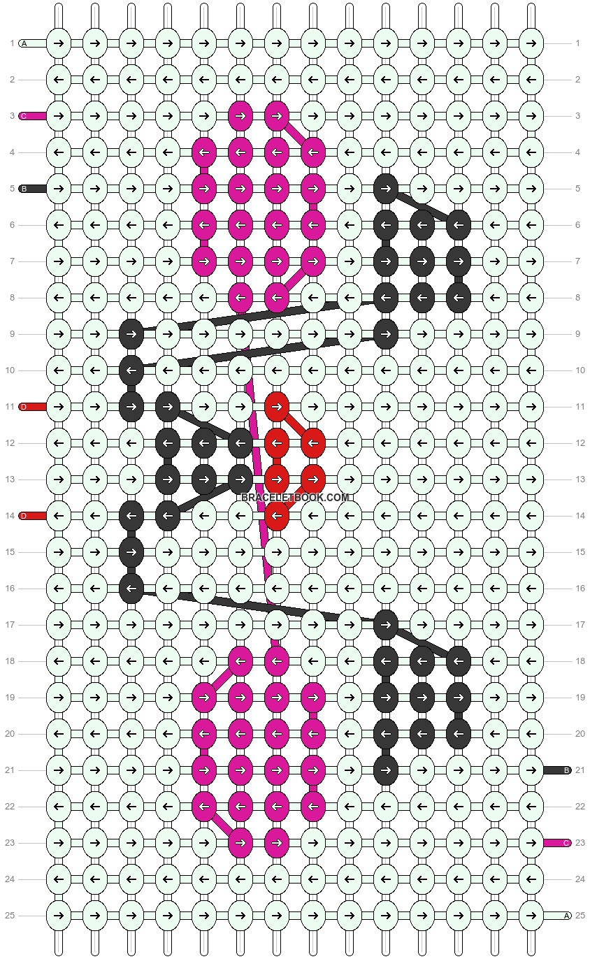 Alpha pattern #20270 pattern