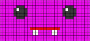 Alpha Friendship Bracelet Pattern #20272