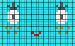 Alpha Friendship Bracelet Pattern #20274