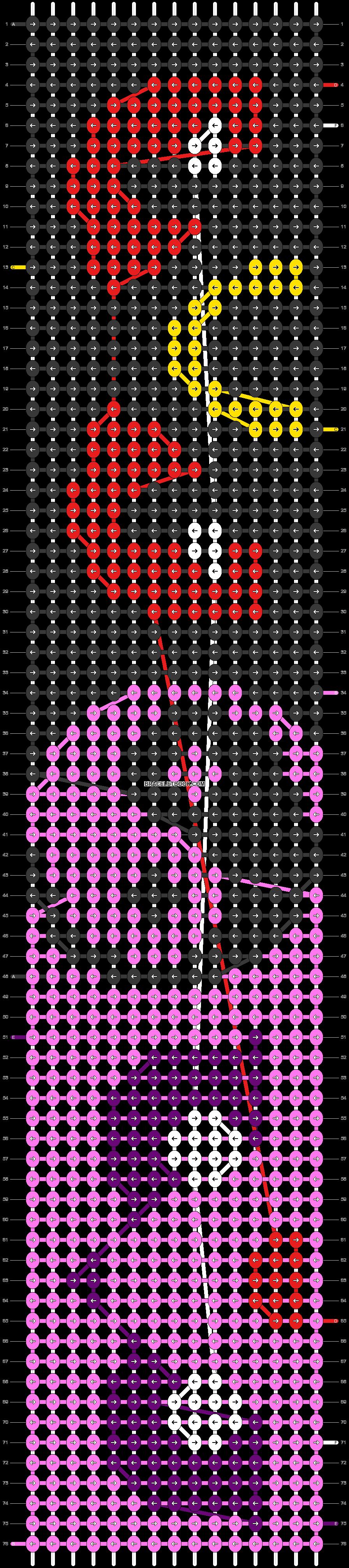 Alpha pattern #20280 pattern