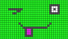 Alpha pattern #20281